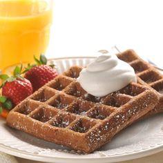 VeryBestBaking.com | Chocolate Brunch Waffles
