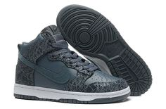 New Nike Shoes 2014 Dark Blue Carved