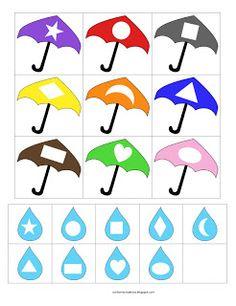 1000+ images about Preschool- Weather theme on Pinterest   Umbrellas ...