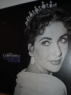 """Antique Diamond Tiara of Elizabeth Taylor was a Gift from her third husband Mike Todd in 1957. She wore it to the Academy Awards in Los Angeles in 1957, where Todd's film 'Around the World in 80 Days' won for Best Picture.    Mike Todd presented her with this antique Diamond tiara, saying, """"You're my queen, and I think you should have a tiara,"""" Taylor wrote in A Life in Jewelry. She further writes, """"It wasn't fashionable to wear tiaras then, but I wore it anyway, because he was my king."""""""