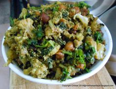 kalakkalsamayal: Cauliflower Chick pea Masala Curry, a side dish for sambar and rasam ricehttp://kalakkalsamayal.blogspot.in/2014/04/cauliflower-chick-pea-masala-curry.html