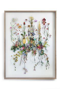 Flower construction #81 (w:130 h:170 d:10 cm)