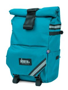 Woodward Convertible - custom colors: teal shell & charcoal ribbon  dream pannier/backpack! so cool