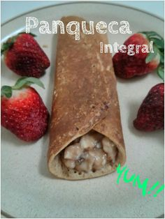 Portuguese Girl With American Dreams: Panqueca Integral