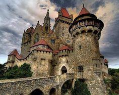Medieval Castle Kreuzenstein, AUSTRIA
