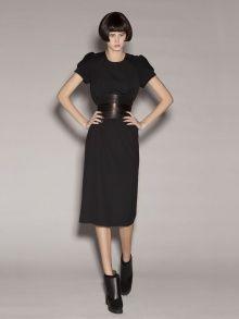 Black Midi Dress   NOT JUST A LABEL