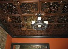 patina ceiling peru copper pvc antique tiles product oscommerce tile info