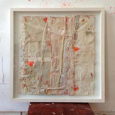 """Sati Zech ~ """"Bollenarbeit no. 249"""" (2014) oil, canvas, 44 x 46 cm via satizech.de"""