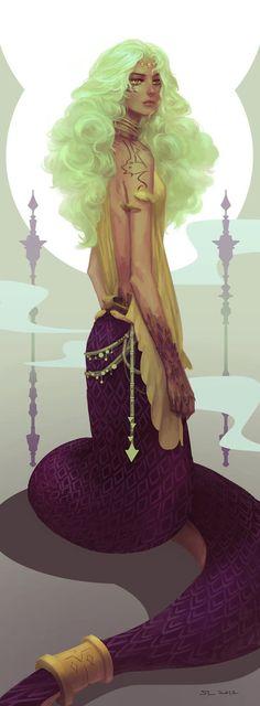 Naga by mifii on DeviantArt