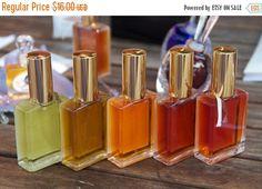 ON SALE Natural Perfume Sample Set  Gourmet by JoAnneBassett