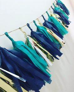 Your place to buy and sell all things handmade Little Prince Party, Little Man Party, Tassel Garland, Garlands, Tassels, Dad Birthday, Birthday Ideas, Blue Gold, Teal