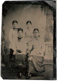 """This is a """"Unknown"""" Tintype Photo. This Tintype Photo is part of the Dolan/Duff Family Album. This Album of over 170 Photos is being provided by Member Dennis Schildhauer."""
