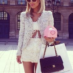 Spring 2013 must have: The Boucle Blazer Jacket! More info here: http://jetsetbabe.com/the-boucle-blazer-spring-2013-must-have