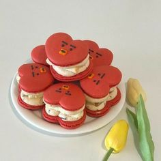 ﹫𝙇𝙞𝙡 𝙡𝙞𝙡𝙖. Pretty Birthday Cakes, Pretty Cakes, Cute Cakes, Sweet Cakes, Cute Desserts, Dessert Recipes, Dessert Healthy, Healthy Snacks, Cute Baking