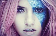 grafika charlotte free, model, and pink hair