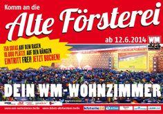 """Berlin: Vom 12. Juni bis 13. Juli 2014 machen 750 Sofas das Stadion des 1. FC Union """"An der Alten Försterei"""" zum größten Wohnzimmer Deutschlands. Ströer Berlin unterstützt die Aktion. Mehr Infos: http://www.compact-team.de/wmwz/"""
