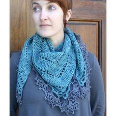 Check out Kira K. Designs Belle Epoque Shawl PDF at WEBS | Yarn.com.