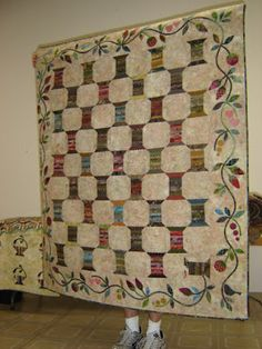 Edyta Sitar's Spool Quilt