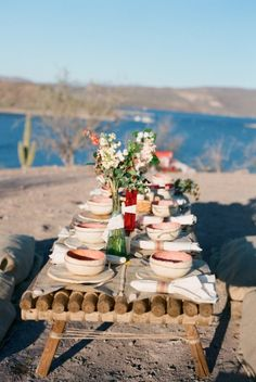 An intimate and beautiful elopement in the Arizona desert featuring hand made Southwest style details.