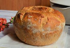 Vaslábasban sült, ropogós kenyér   Álom.Íz.Világ. Bread, Food, Brot, Essen, Baking, Meals, Breads, Buns, Yemek