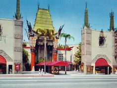 TCL Chinese Theatre (formerly known as Grauman's) in 1953.