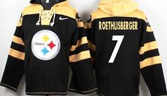 Ben Roethlisberger Black Player Pullover NFL Hoodie
