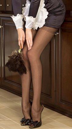 Nylons and heels pics