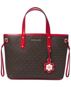 5e5b70973adeeb Michael Kors Carter Signature Small Tote & Reviews - Handbags & Accessories  - Macy's