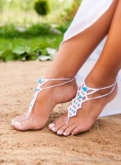 Hey, I found this really awesome Etsy listing at https://www.etsy.com/uk/listing/218455863/barefoot-sandal-white-crochet-barefoot