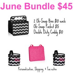 June 2015 Thirty-One Gifts Bundle Thirty One Gifts! Click the following link to shop or book your party today: https://www.mythirtyone.com/Organizationisahoot/shop/specials