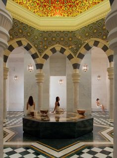Within this spectacular palace, behind immense and ornately carved doors, awaits Dubai's best-kept secret, Talise Ottoman Spa.