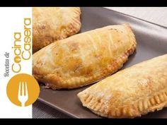 Empanadillas de atún. Masa hecha a mano | Recetas de Cocina Casera - Recetas fáciles y sencillas