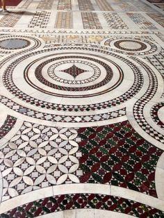 Mosaic floor-Santa Maria Maggiore Rome