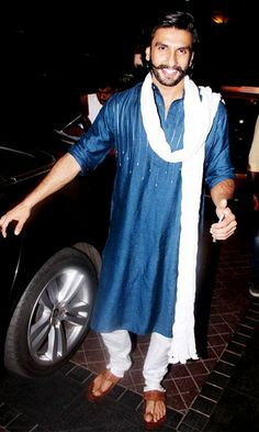 If you follow Ranveer Singh then follow him religiously for what all he does! Don't miss to copy his Kolhapuris! #male #kolhapuris #comfortable #footwear #unique #stylish #cool #classy #trending #fashionable
