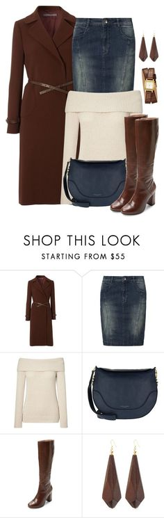 """Untitled #1553"" by gallant81 ❤ liked on Polyvore featuring Hobbs, Soyaconcept, Marc Jacobs, Seychelles, Kenneth Jay Lane and GUESS"