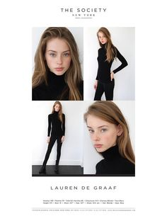 Lauren de Graaf - The Society S/S 16 Polaroids/Portraits (Polaroids/Digitals)