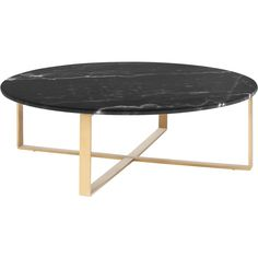 DwellStudio Serafin Coffee Table (7.715 VEF) ❤ liked on Polyvore featuring home, furniture, tables, accent tables and dwellstudio
