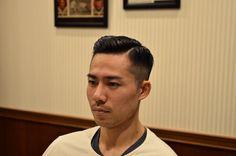 Asian Men Hairstyle, Asian Hair, Slick Hairstyles, Slicked Back Hair, Style Ideas, Haircuts, Hair Beauty, Menswear, Long Hair Styles