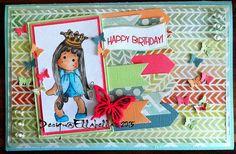 Magnolia, Stamp, Stempel, card, Karte