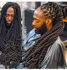 Looks sooo heavy. Mens Dreadlock Styles, Dreadlock Hairstyles For Men, Dreads Styles, Cool Hairstyles, Dreadlocks Men, Loc Styles For Men, Beautiful Dreadlocks, Magic Hair, Natural Hair Styles