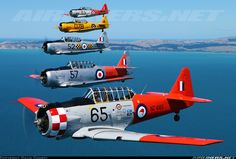 Private North American Harvard/Texan SNJ series) photo by Gavin Conroy Ww2 Aircraft, Aircraft Pictures, Military Jets, Military Aircraft, Angel Flight, Old Planes, Supermarine Spitfire, Defence Force, Private Jet