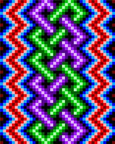 0013 Lightning Knotwork Quilt Pattern | Etsy Tapestry Crochet Patterns, Star Quilt Patterns, Crochet Quilt, Cross Stitch Patterns, Beaded Jewelry Patterns, Bead Loom Patterns, Beading Patterns, Broderie Bargello, Bargello Quilts
