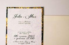 Indywidualne zaproszenia ślubne, ręcznie robione zaproszenia na ślub.