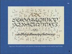 The World of Alphabets by Hermann Zapf: A Kaleidoscope of Drawings and Letterforms