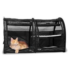 Double Show Shelter with Mesh Doors