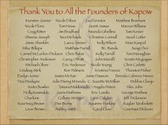 Thank You to all our supporters from www.GoFundMe.com/Kaprowtruck