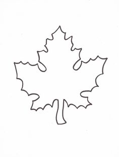 Leaf Template to use for Giving Thanks writing activity to hang from my classroom ceiling! So cute and exciting!!!