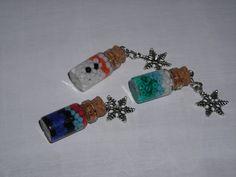 Disney's Frozen Inspired Dainty Glass Bottle Charm on Etsy, $5.00