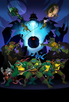 Turtles Forever --   4Kids Entertainment made the ultimate #TMNT collaboration by introducing the 1984 comic, 1987 series, and 2003 series Ninja Turtles in one movie. Did you like like Turtles Forever?