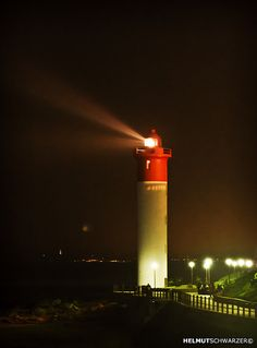 Umhlanga Lighthouse South Africa I once lived nearby Light Of The World, Light Of Life, Light House, Beacon Lighting, Beacon Of Light, Lighthouse Lighting, Lighthouse Pictures, Kwazulu Natal, Tall Ships